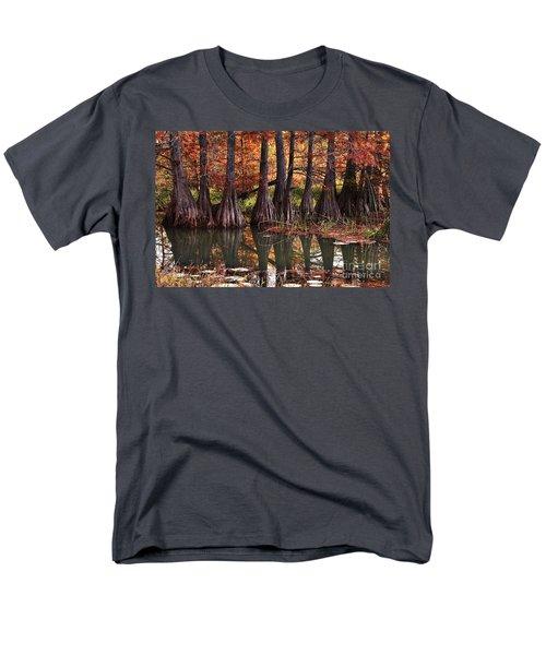 Family Of Cypress At Lake Murray Men's T-Shirt  (Regular Fit) by Tamyra Ayles