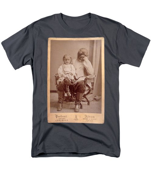 Famous Russian Sideshow Performer Jo-jo The Dog-faced Boy Men's T-Shirt  (Regular Fit) by Celestial Images