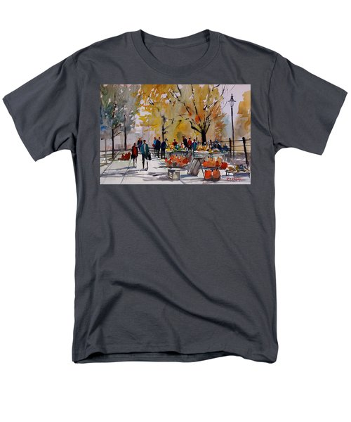 Farm Market - Menasha Men's T-Shirt  (Regular Fit) by Ryan Radke