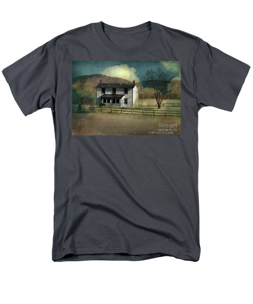 Farmhouse Men's T-Shirt  (Regular Fit) by Kathy Russell