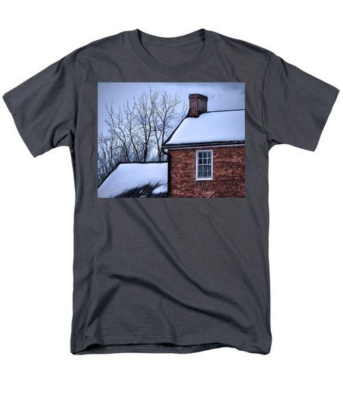 Men's T-Shirt  (Regular Fit) featuring the photograph Farmhouse Window by Robert Geary