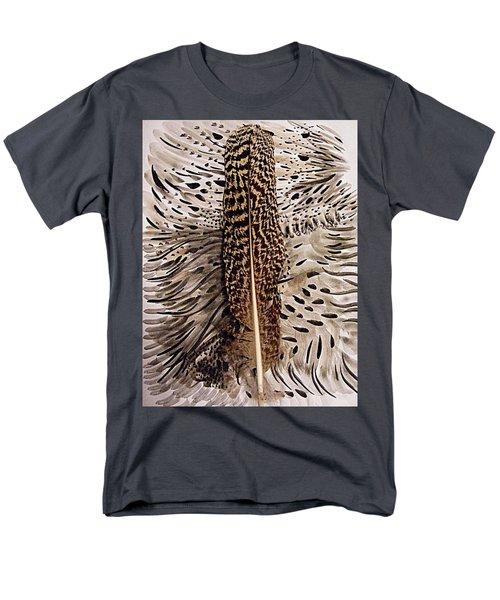 Feather Men's T-Shirt  (Regular Fit) by Nancy Kane Chapman