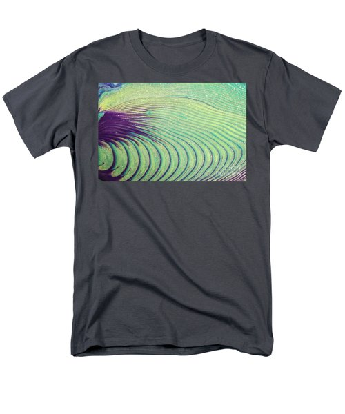 Feathery Ripples Men's T-Shirt  (Regular Fit) by Julie Clements