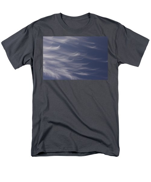 Men's T-Shirt  (Regular Fit) featuring the photograph Feathery Sky by Shari Jardina