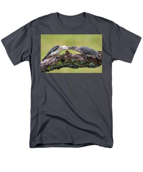 Feeding Time Men's T-Shirt  (Regular Fit) by Ricky L Jones