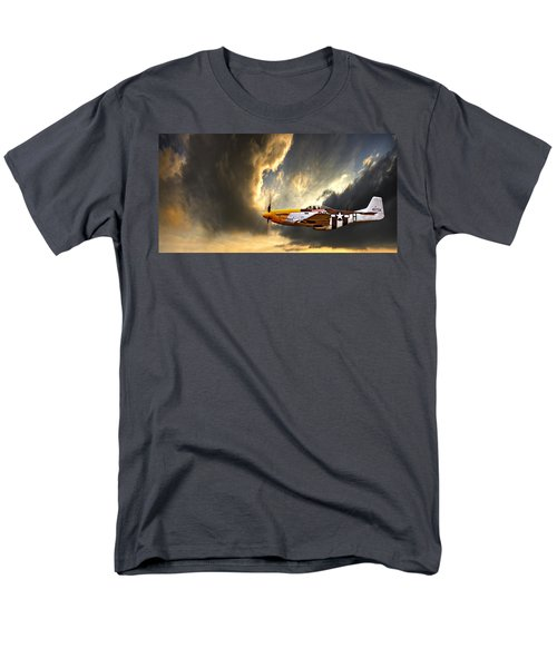 Men's T-Shirt  (Regular Fit) featuring the photograph Ferocious Frankie by Meirion Matthias