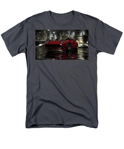Men's T-Shirt  (Regular Fit) featuring the photograph Ferrari F12berlinetta by Louis Ferreira