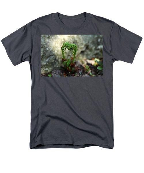 Fiddleheads Men's T-Shirt  (Regular Fit) by Debbie Oppermann