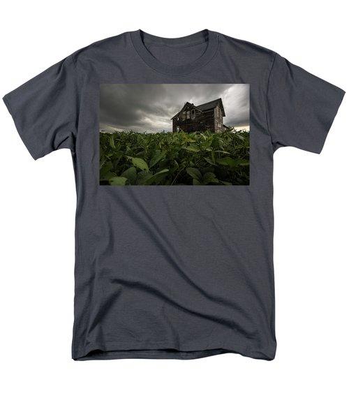 Men's T-Shirt  (Regular Fit) featuring the photograph Field Of Beans/dreams by Aaron J Groen