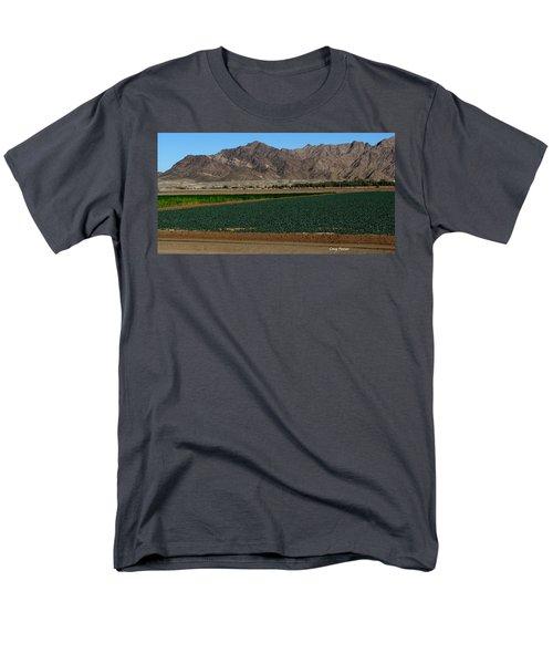 Fields Of Yuma Men's T-Shirt  (Regular Fit) by Greg Patzer