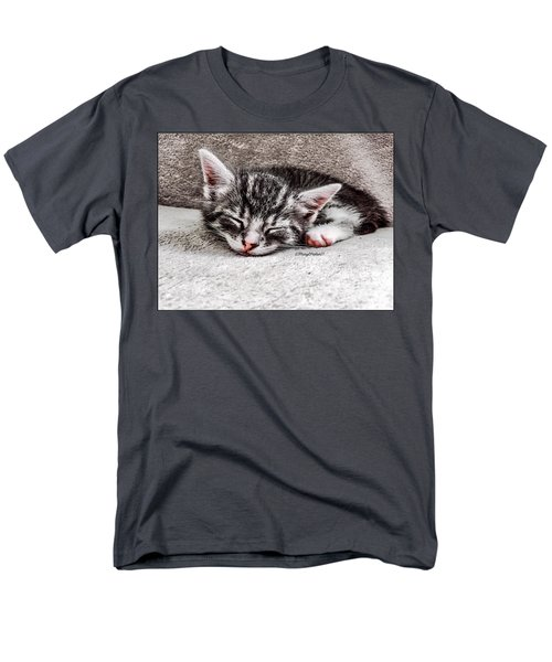 Finally Asleep  Copyright Mary Lee Parker 17  Men's T-Shirt  (Regular Fit) by MaryLee Parker