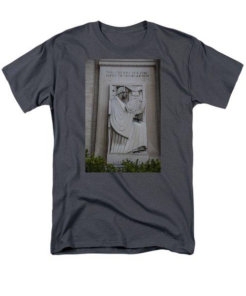 Fine Art Library Penn State  Men's T-Shirt  (Regular Fit) by John McGraw