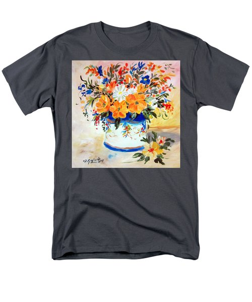 Fiori Gialli Natura Morta Men's T-Shirt  (Regular Fit)