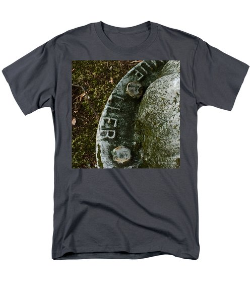 Fire Hydrant #10 Men's T-Shirt  (Regular Fit) by Suzanne Lorenz