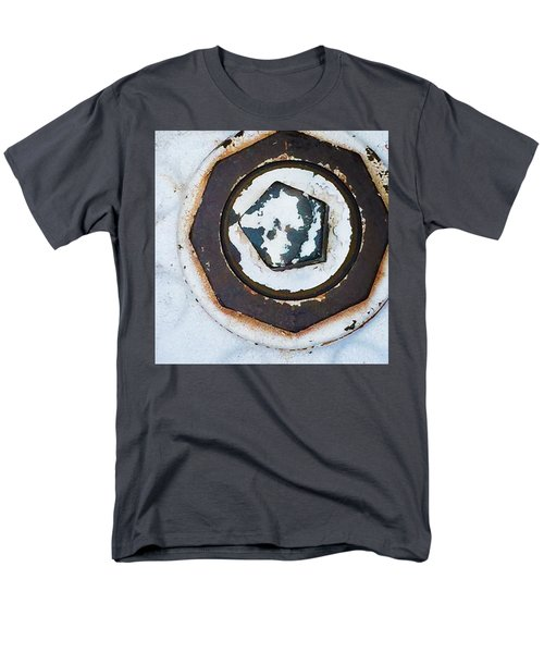 Fire Hydrant 9 Men's T-Shirt  (Regular Fit) by Suzanne Lorenz