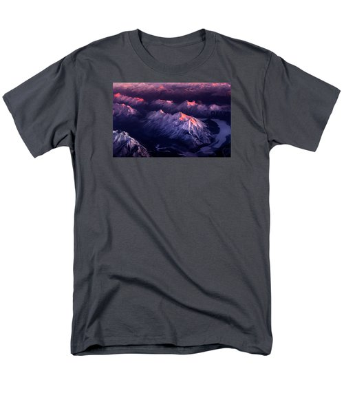 Fire In Ice Men's T-Shirt  (Regular Fit) by John Poon