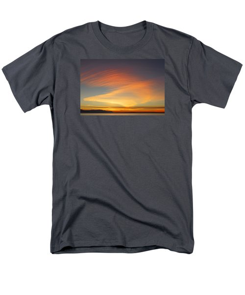 Fire In The Sky Men's T-Shirt  (Regular Fit) by Elvira Butler