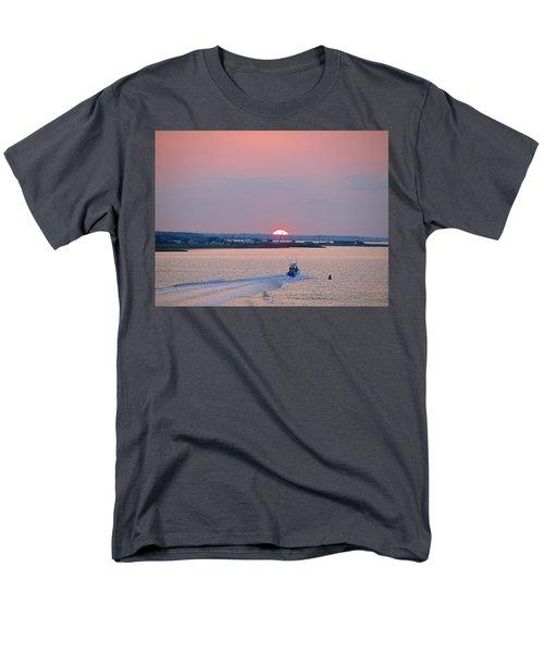First Light Men's T-Shirt  (Regular Fit) by  Newwwman