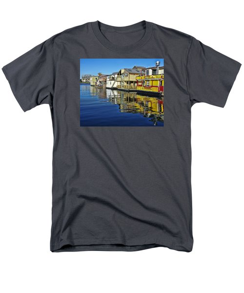Fisherman's Wharf Men's T-Shirt  (Regular Fit) by Marilyn Wilson