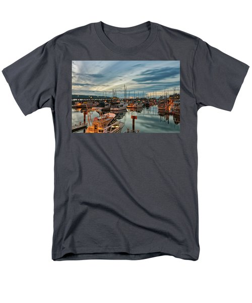 Men's T-Shirt  (Regular Fit) featuring the photograph Fishermans Wharf by Randy Hall