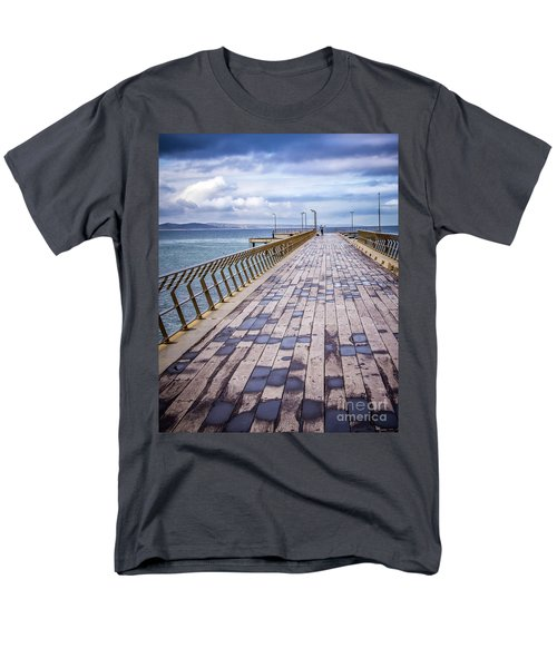 Men's T-Shirt  (Regular Fit) featuring the photograph Fishing Day by Perry Webster