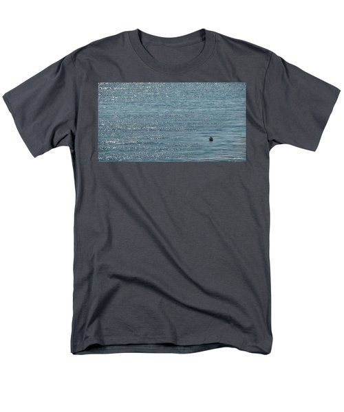 Men's T-Shirt  (Regular Fit) featuring the photograph Fishing In The Ocean Off Palos Verdes by Joe Bonita