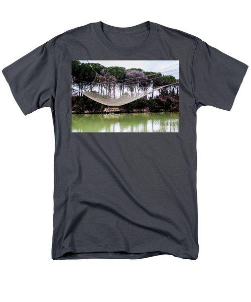 Fishing Net Men's T-Shirt  (Regular Fit) by Ana Mireles