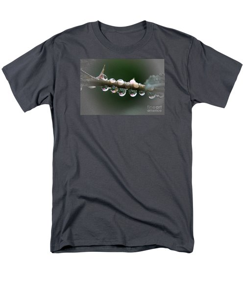 Men's T-Shirt  (Regular Fit) featuring the photograph Five Droplets by Yumi Johnson