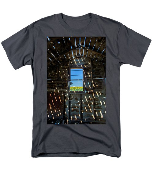 Fixer Upper With A View Men's T-Shirt  (Regular Fit) by Kristal Kraft