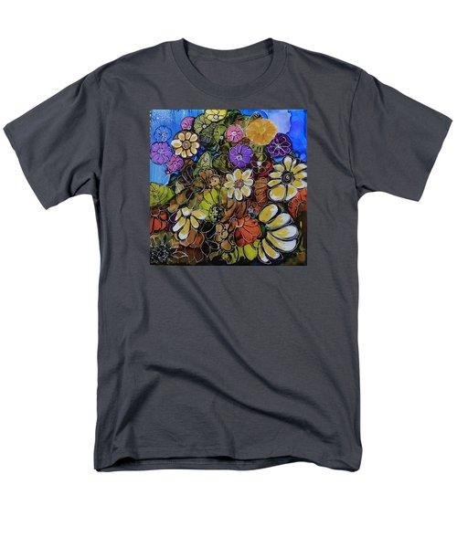 Floral Boquet Men's T-Shirt  (Regular Fit)