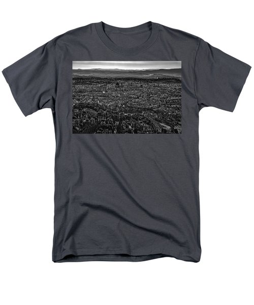 Men's T-Shirt  (Regular Fit) featuring the photograph Florence From Fiesole by Sonny Marcyan
