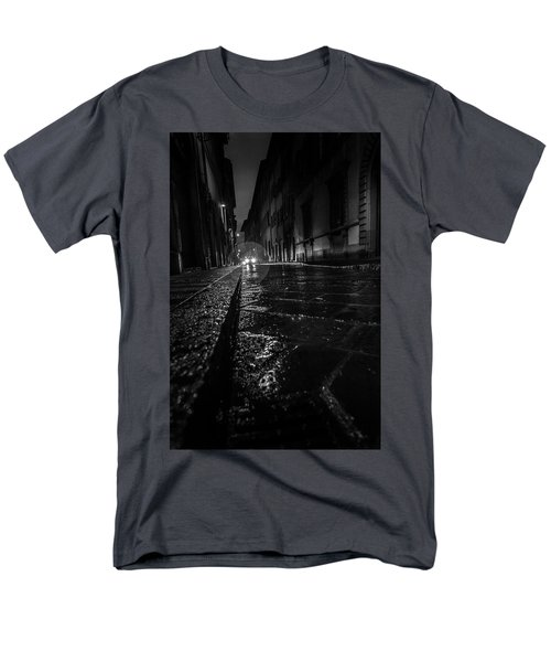 Men's T-Shirt  (Regular Fit) featuring the photograph Florence Nights by Sonny Marcyan