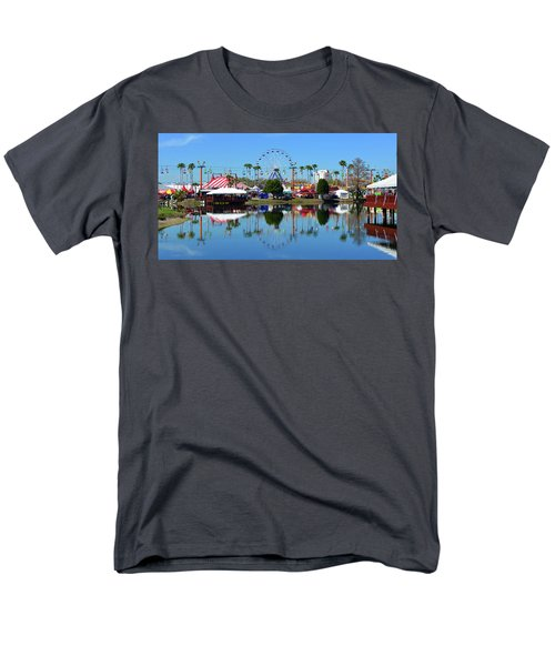 Men's T-Shirt  (Regular Fit) featuring the photograph Florida State Fair 2017 by David Lee Thompson