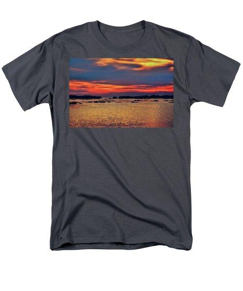 Men's T-Shirt  (Regular Fit) featuring the photograph Florida West Coast  by Louis Ferreira