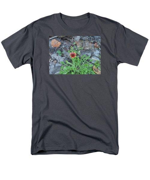 Flower And Lizard Men's T-Shirt  (Regular Fit) by Kay Gilley