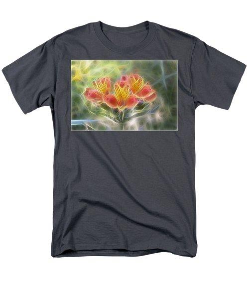 Flower Streaks Men's T-Shirt  (Regular Fit)