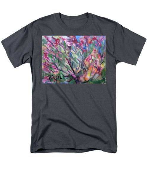 Men's T-Shirt  (Regular Fit) featuring the painting Flowering by Betty Pieper