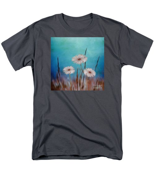 Men's T-Shirt  (Regular Fit) featuring the digital art Flowers For Eternity 2 by Klara Acel