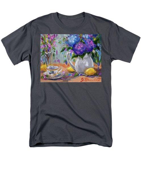 Flowers Lemons Men's T-Shirt  (Regular Fit)