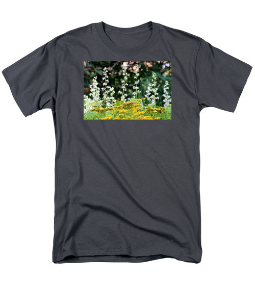 Flowers Sparkling Above The Tansies Men's T-Shirt  (Regular Fit)