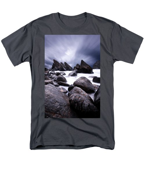 Men's T-Shirt  (Regular Fit) featuring the photograph Flowing by Jorge Maia