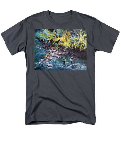 Fly Fishing Men's T-Shirt  (Regular Fit)