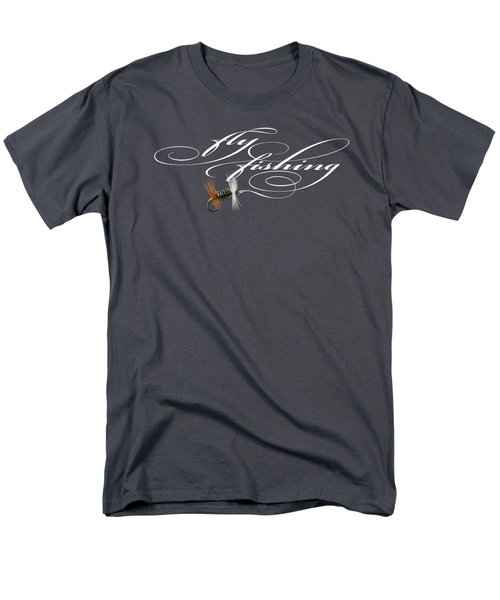 Fly Fishing Renegade  Men's T-Shirt  (Regular Fit) by Rob Corsetti