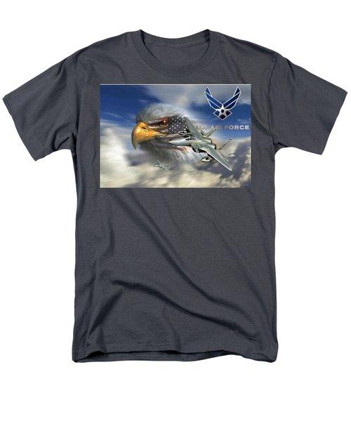 Fly Like The Eagle Men's T-Shirt  (Regular Fit) by Ken Pridgeon