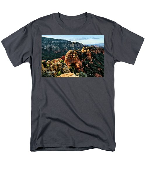 Flying Buttress 04-227 Men's T-Shirt  (Regular Fit) by Scott McAllister