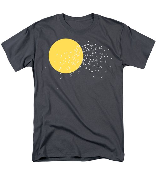 Flying Home Men's T-Shirt  (Regular Fit) by Sverre Andreas Fekjan