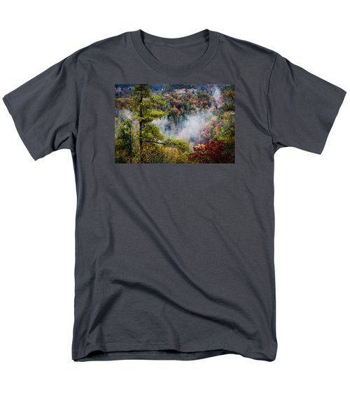 Fog In The Valley Men's T-Shirt  (Regular Fit) by Diana Boyd