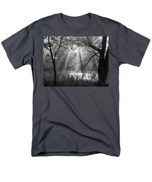 Fog Rays Men's T-Shirt  (Regular Fit) by Betsy Zimmerli