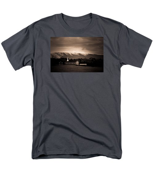 Men's T-Shirt  (Regular Fit) featuring the photograph Fog Tendrils by Carlee Ojeda