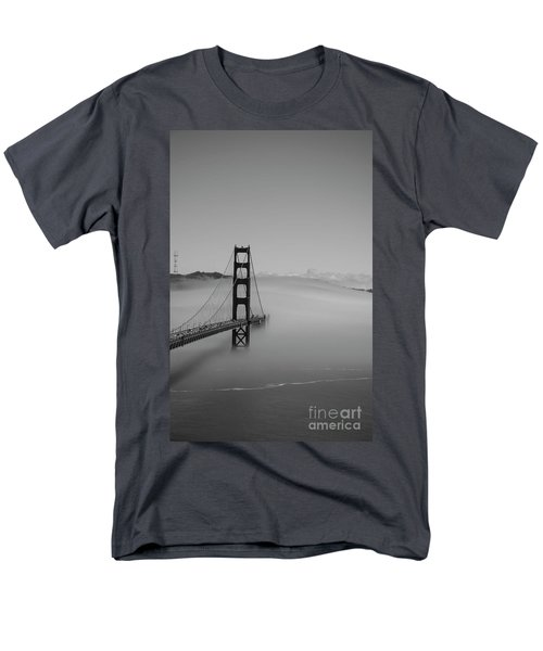 Men's T-Shirt  (Regular Fit) featuring the photograph Fogging The Bridge by David Bearden